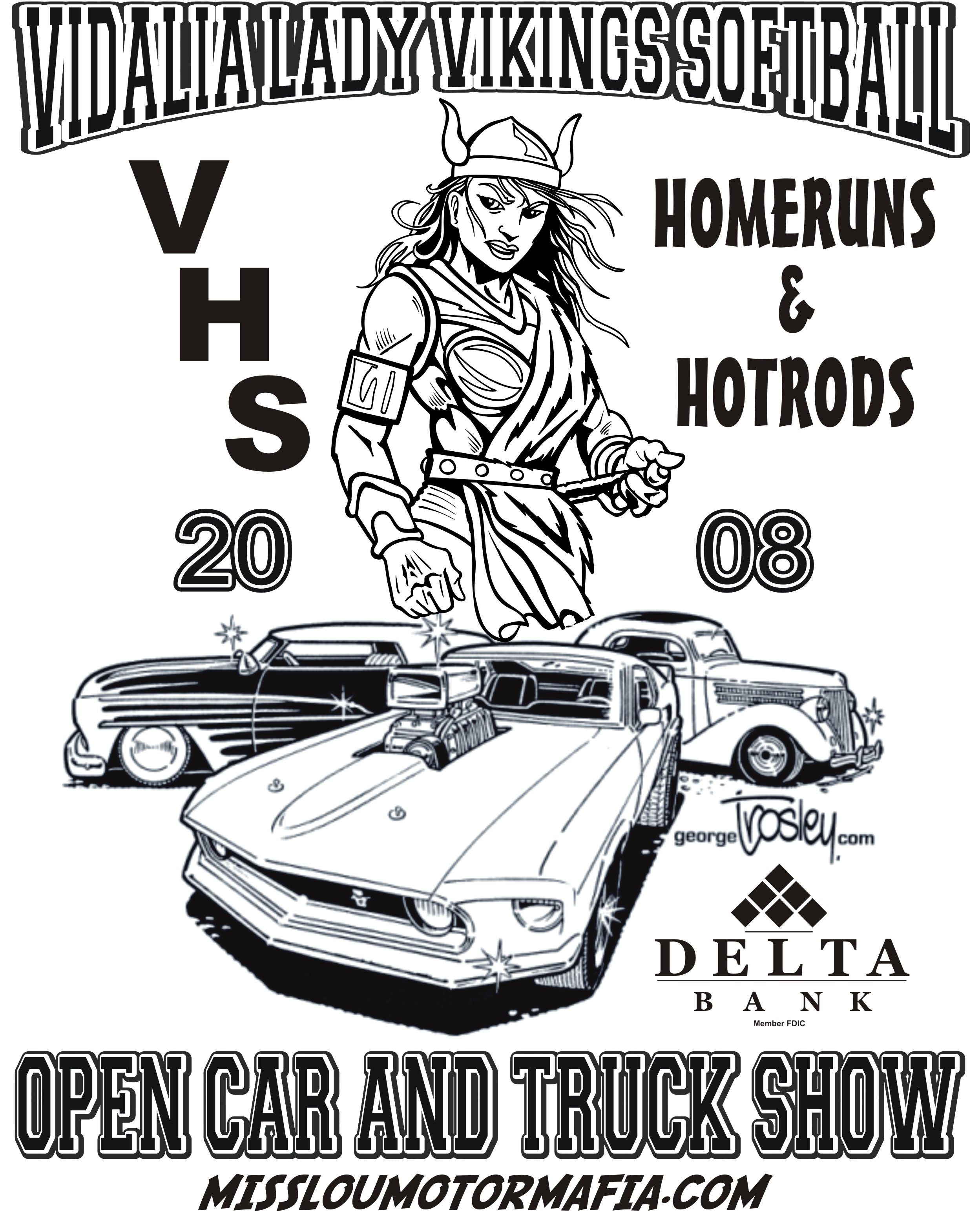 The Homeruns & Hotrods Event